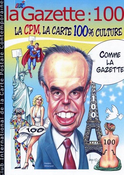 La Gazette 100 du CICPC à la 31e bourse cartophile de Saint-Denis-en-Val dans Notre bourse cartophile CICPC-Gazette-100
