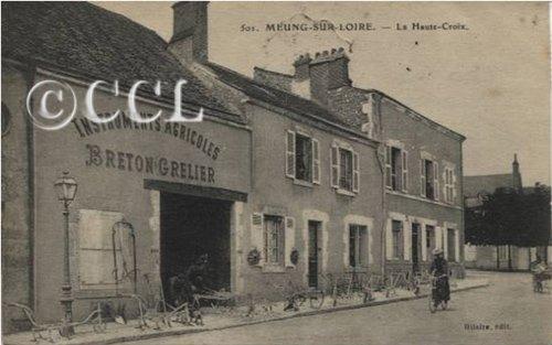 Un éditeur de cartes postales : HILAIRE à Meung-sur-Loire dans Cartophilie 1-La-Haute-Croix-501-t
