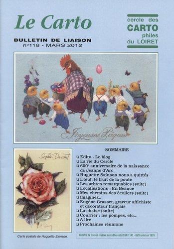 Année 2012 : mars Carto 118, juin Carto 119, septembre Carto120, décembre Carto 121 dans Le Carto Carto-118-mars-2012