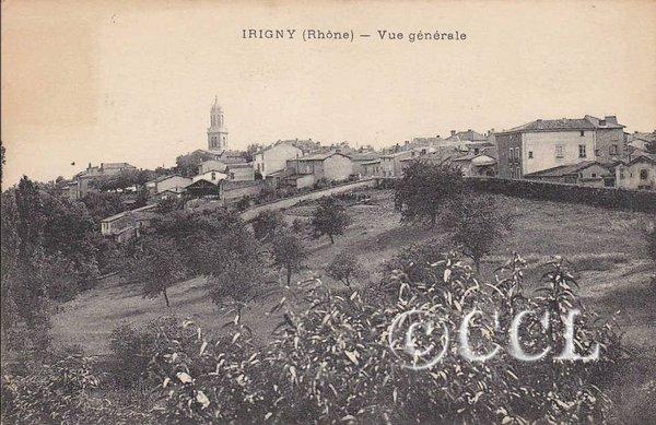 Irigny-t dans Cartophilie