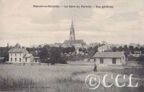 Le Cercle des Cartophiles du Loiret à la 20e bourse de Beaune-la-Rolande dans Nos rencontres beaune-la-rolande-gare-du-parville-t