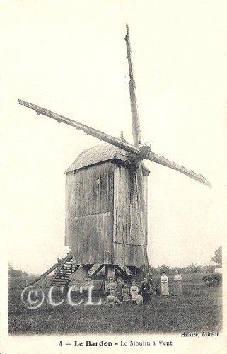 Hilaire, éditeur de cartes postales à Meung-sur-Loire dans Cartophilie le-bardon-4-la-moulin-a-vent-hilaire2-rec