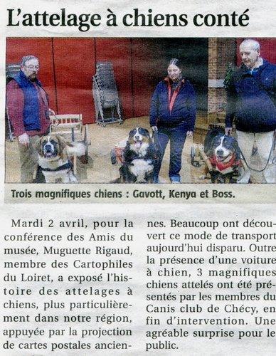 L'attelage à chiens conté dans Nos rencontres journal-de-gien-attelage-de-chien-conte