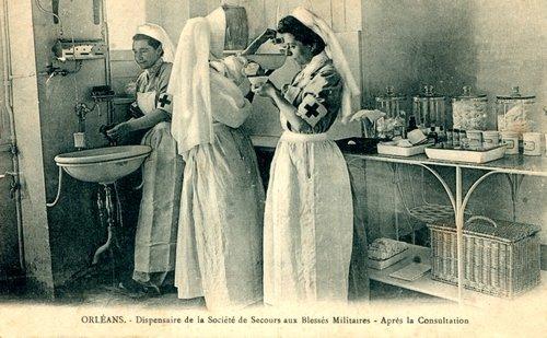 Orléans- Dispensaire de la SSBM, vers 1915