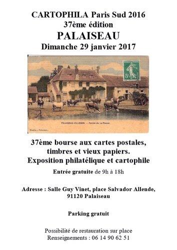 2017 01 29 Cartophila Palaiseau